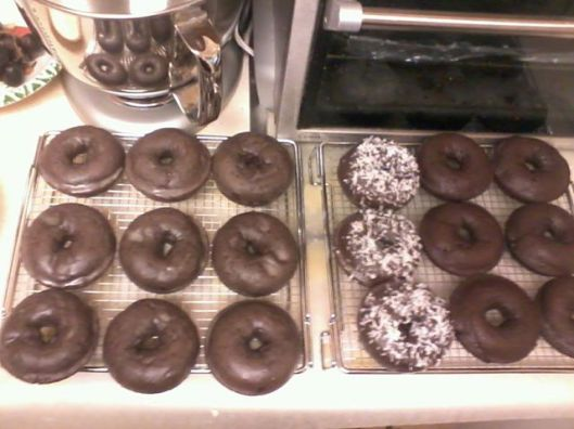 Sour Cream Chocolate Glazed