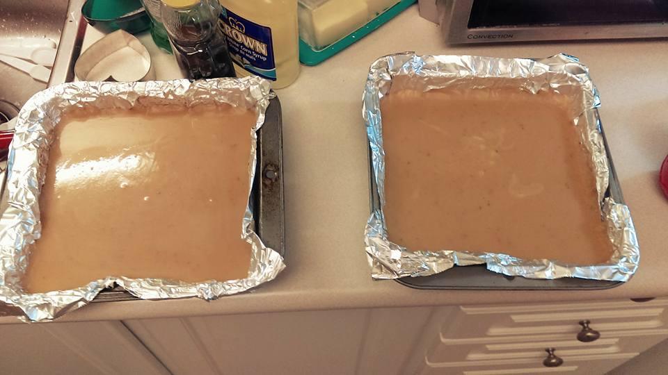 Pour molten caramel over shortbread.jpg